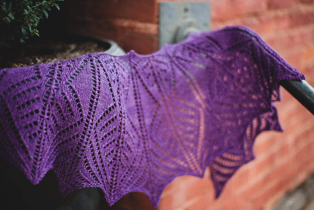 Design Your Own Wedge Shawl