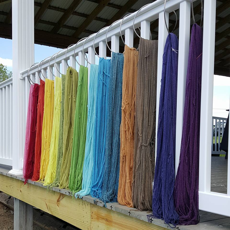 Natural Dye Rainbow - SOLD OUT
