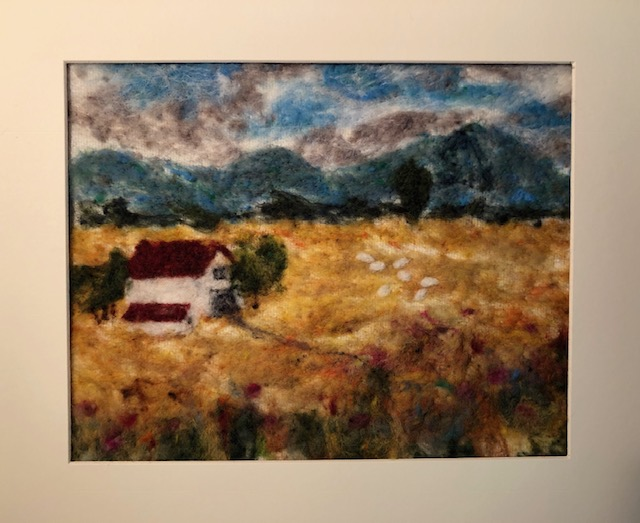 Needle Felting:  Valley Farm