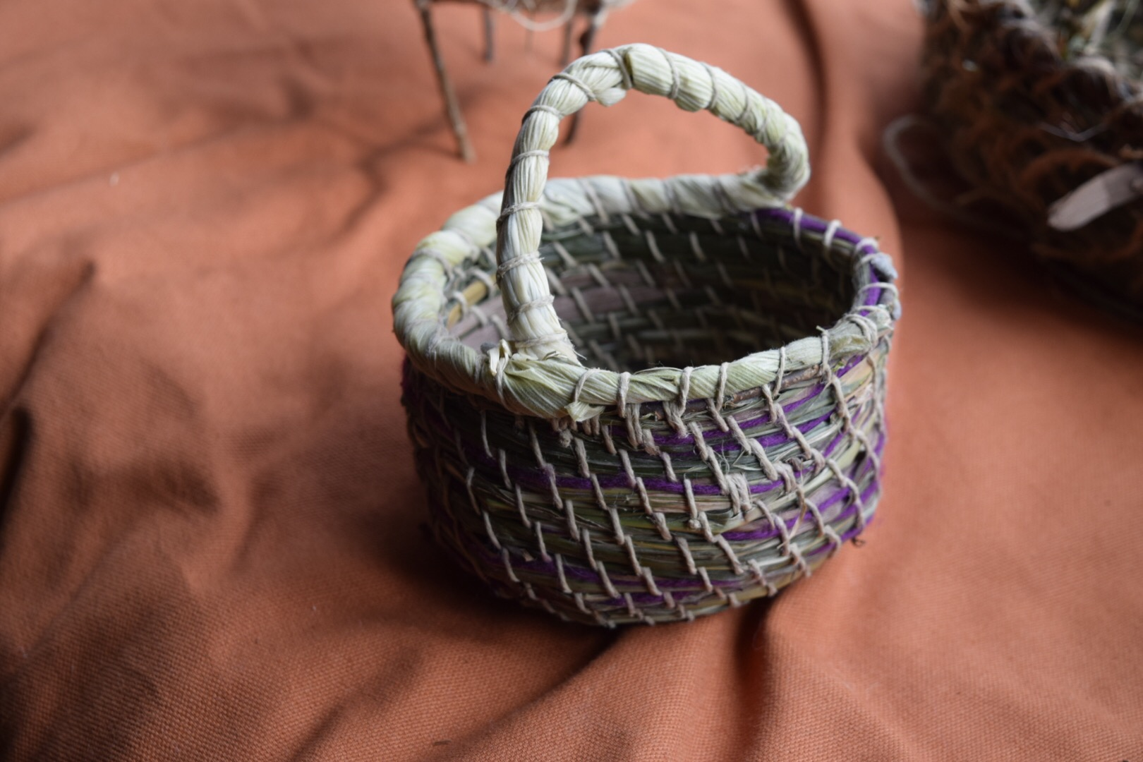 Backyard Basketry: Coiling with Grasses, Cattails, and More - SOLD OUT