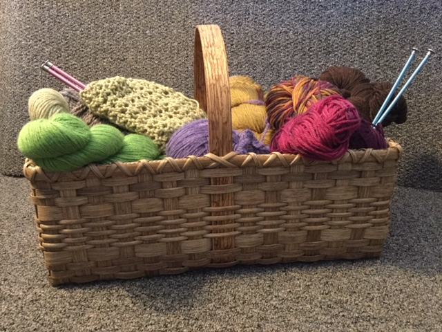 A Tisket, A Tasket, What A Perfect Fiber Basket! - SOLD OUT