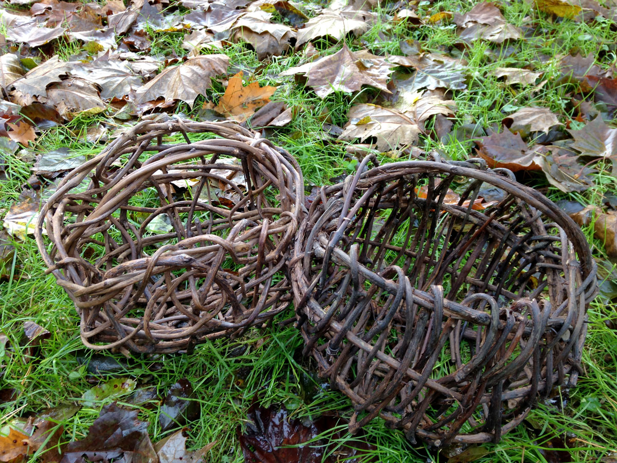 Random Weave Vine Basket - SOLD OUT