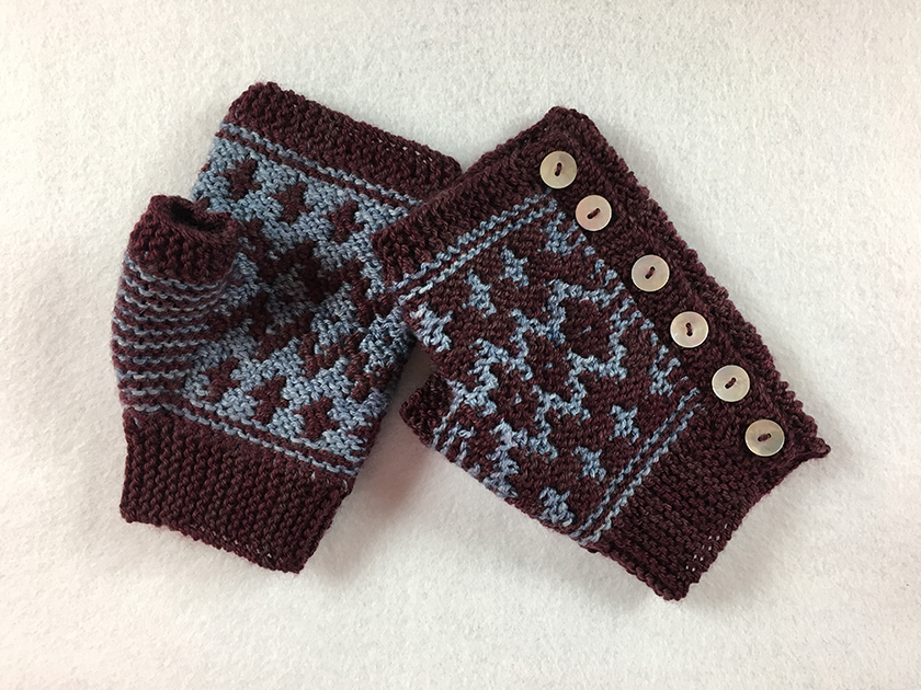 Switch Stitch Technique and Sidewalk Mittens - SOLD OUT