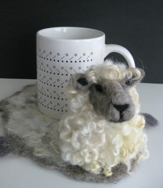 Needle Felting:  Character Mug Rug Coasters and More